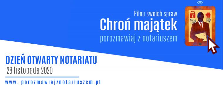 Dzień Otwarty Notariatu 2020